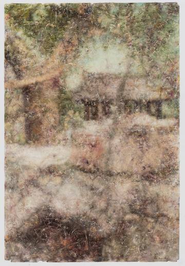 景物?园林卷 1628 布面油画 138×78cm 2016 肖芳凯