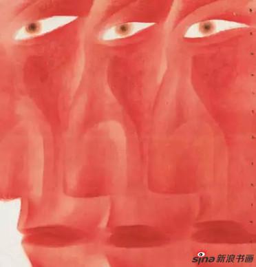 卢甫圣《克隆》,水墨设色,192×178cm,2013年