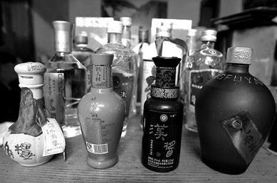 王小东收藏的老酒,不少都是孤品
