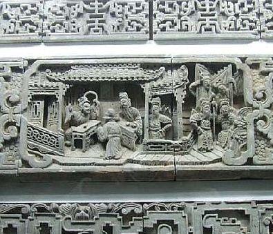 探访黄山徽派雕刻博物馆