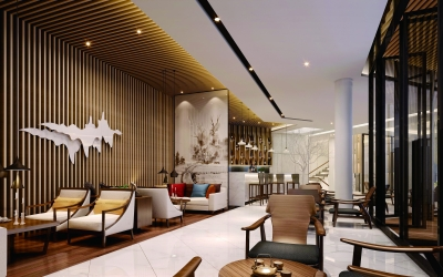 现代中式家具表现出禅意空间迎合整体设计