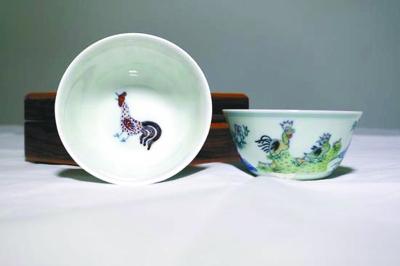 """3万元一个的海捞瓷""""鸡缸杯"""""""