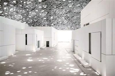阿布扎比卢浮宫内部设计