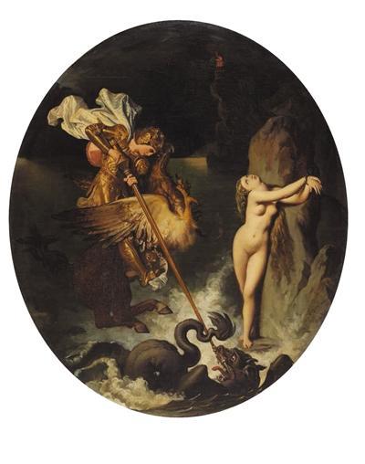 《洛哲解救安吉莉卡》