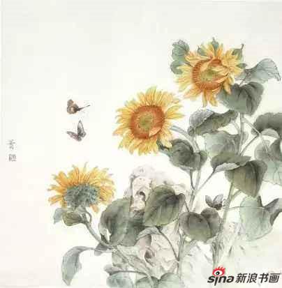 《春色满园》 68×68cm