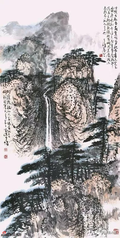 孙其峰 | 山水 138cm×68cm