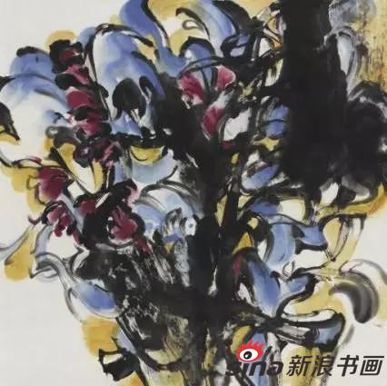蔡智《花卉写生》