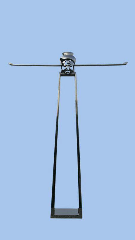 张少辉 包-公正120x80cm 不锈钢