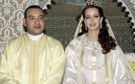 摩洛哥王妃拉拉·萨尔玛佩戴希腊回纹王冠