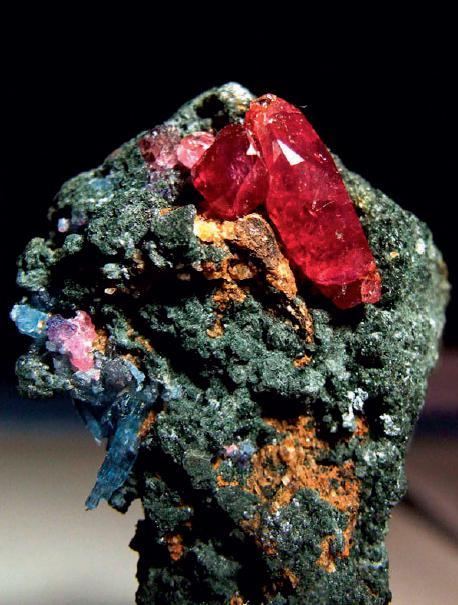 红宝石矿标