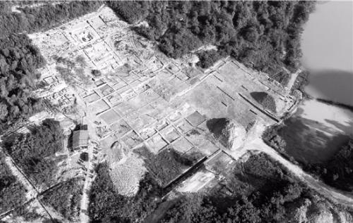 兰若寺墓地俯视图