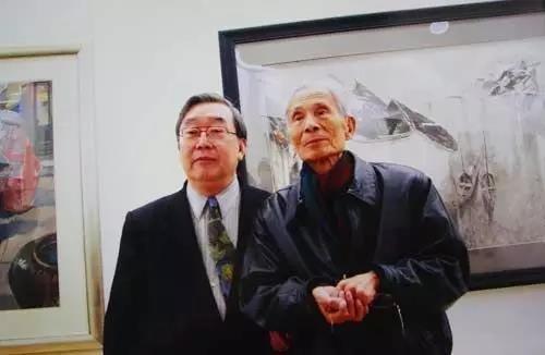 袁运甫与吴冠中