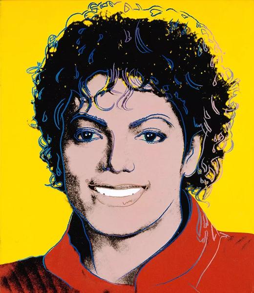 'Michael Jackson',Andy Warhol,1984