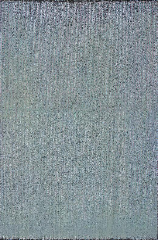 蒋正根作品 点苔 -16.11NO.8 120×100cm 丙烯--