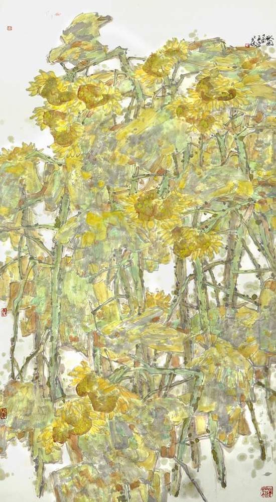 葵园 138×68cm