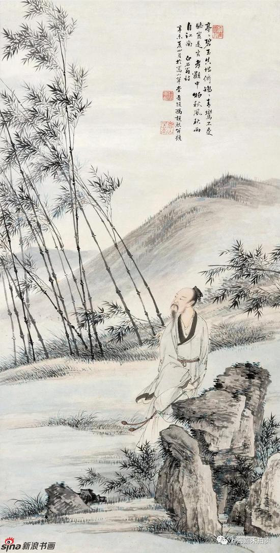钤印:梅华   著录:《冯超然年谱》p74,彩图九,上海书画出版社,200
