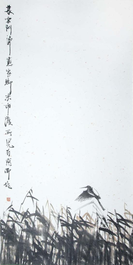 暮雲间 138×68cm
