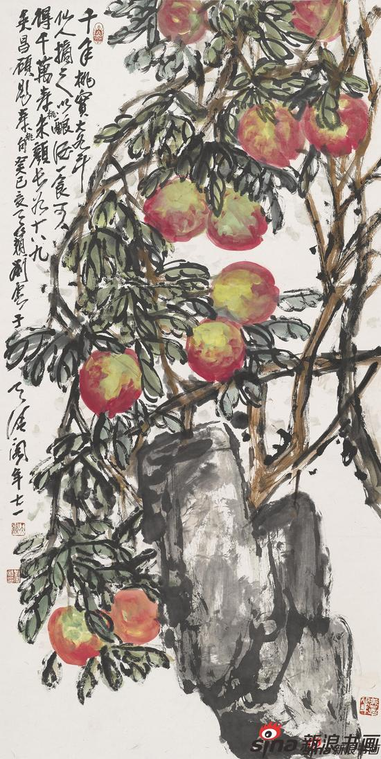 寿桃(2013)136X68