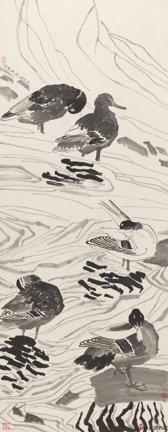 清泉流长 张迪平 180×69