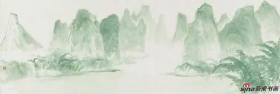 陈俣行《桂林山水》