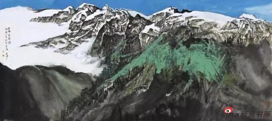 王雪峰《西藏写生》