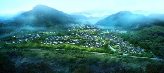 宜兴雅达健康生态产业园意向图