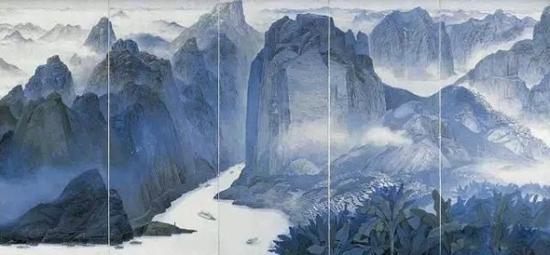 《巴山蜀水》 袁运甫 1979年