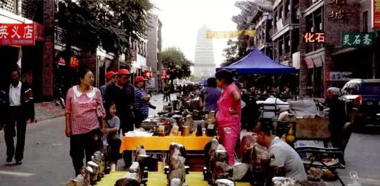 朝阳慕容街战国红玛瑙市场