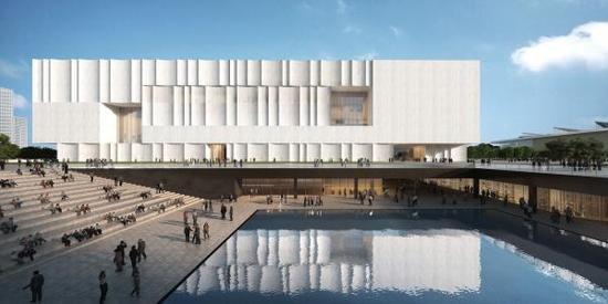 上博东馆效果图,其丰富的公共空间将使它成为城市的公共客厅