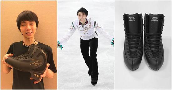 冰上王子的魅力 羽生结弦溜冰鞋拍卖高达200万
