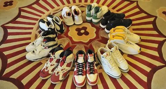 9双球鞋估值百万