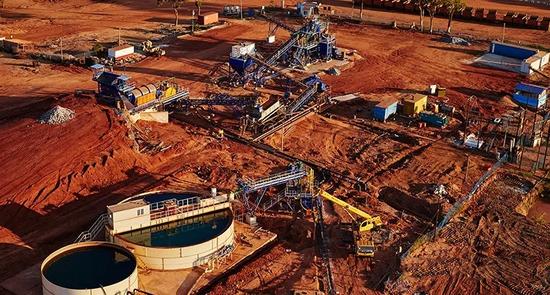 Gemfields在莫桑比克Montepuez的红宝石矿区