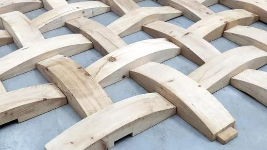 无边界 Borderless   傅中望 Fu Zhongwang   木 Wood   尺寸可变 Dimension variable  2016