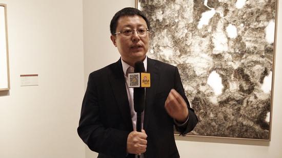 清华大学美术学院副院长、艺术史博士、博士生导师张敢