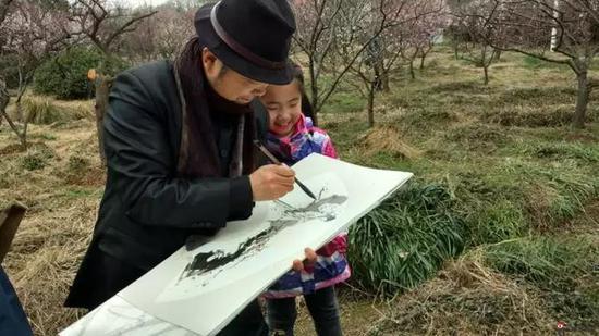江苏省中国画学会理事 王立庆写生采风