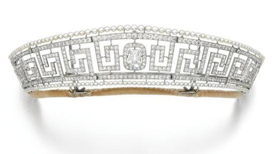 Cartier希腊回纹王冠