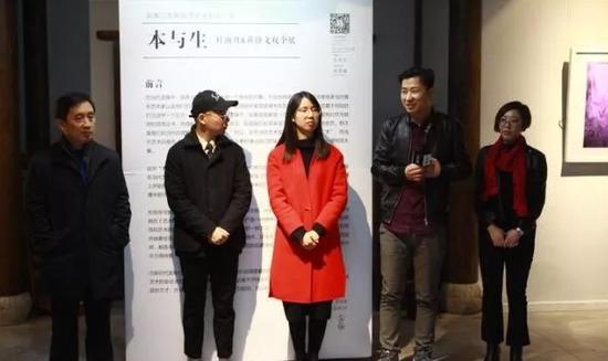 从左到右:顾丞峰、黄静文、杜雨舟、刘枫林、王文文