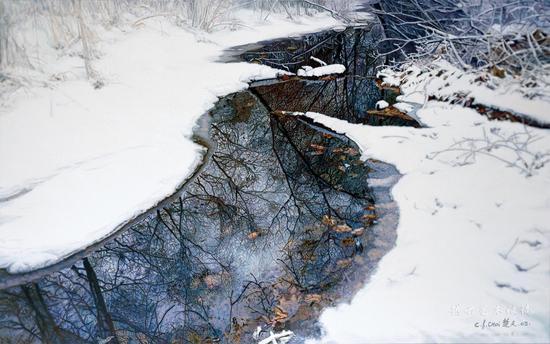 蔡楚夫作品《雪霁系列》之二