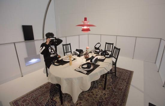技术伦理:北京媒体艺术双年展 展厅现场图片 拍摄:董慧萍