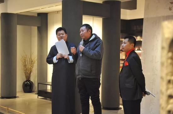 中国书法家协会理事张世刚致辞