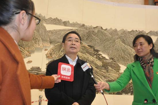 黄格胜先生接受媒体采访