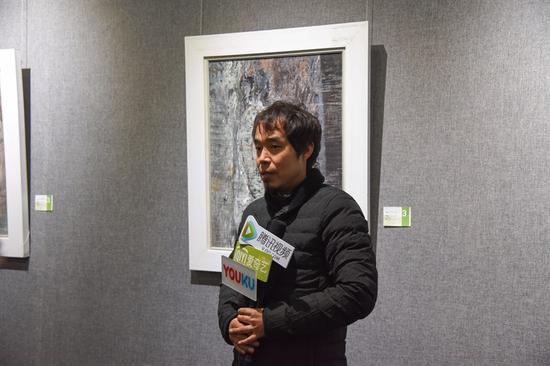 参展艺术家王红坡