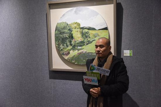 参展艺术家杨鹏