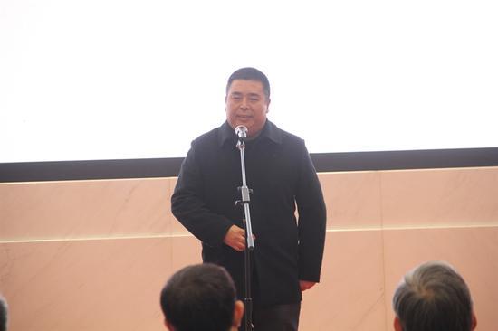 浙江省美术家协会秘书长骆献跃讲话