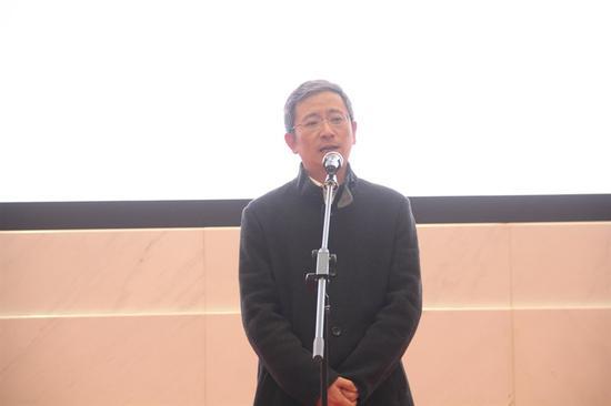 浙江省展览馆馆长林应辉发言