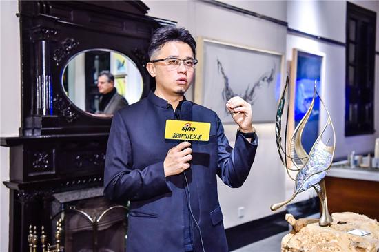 艺术家马兴文现场导览