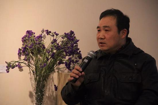 中国油画院著名画家孙文刚先生学术主持