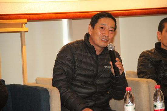 中国油画院画家,办公室副主任王殿华先生致辞
