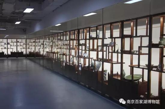 百家湖博物馆瓷器厅