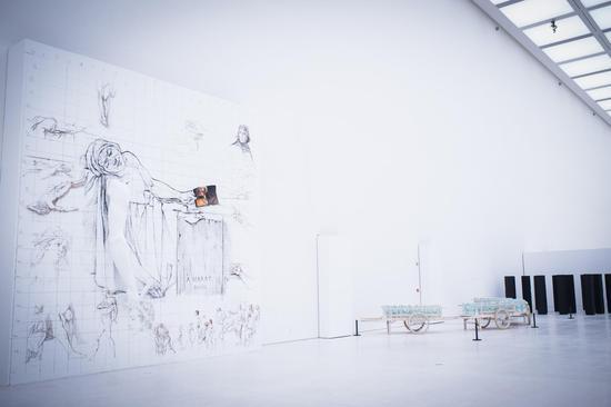 雕塑四十年·第一回展(2008-2017)展览现场